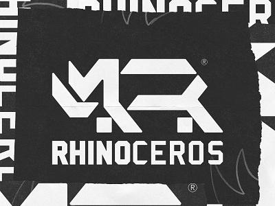 RHINO LOGO graphic design branding logo