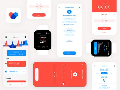 Illume Health iOS & watchOS App