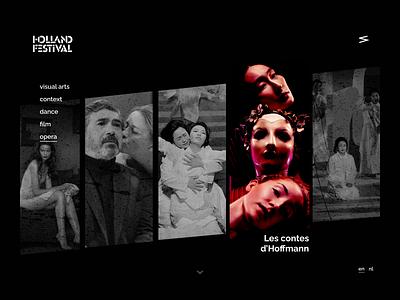 Daily UI 003: Landing Page opera music concert festival ux ui design landing page daily ui challenge