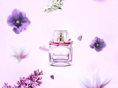 Illustration illustration web site color violet flxmd flexmedia flower dribbble