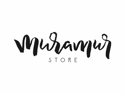 muramur version1 australia lettering logotype logo fashion