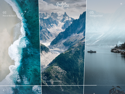 Pick 1 of 3 select minimal images layout design