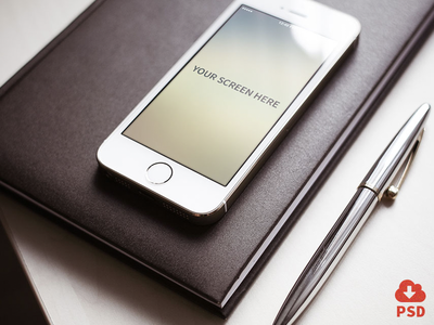 Iphone photorealistic mockups design iphone psd device download freebie hires ios mock-up mockup scalable