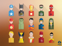Super Hero Avatars