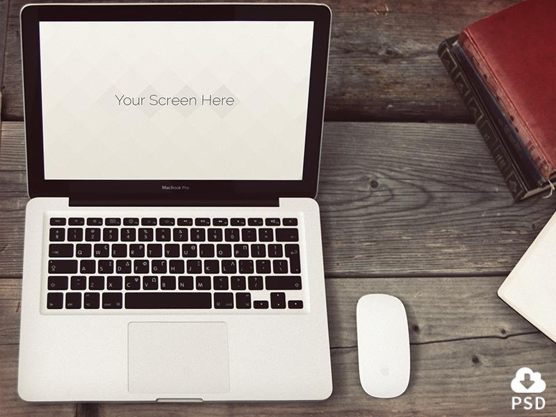 Macbook mockup, shot 3 mockup macbook design freebie device hires psd mock-up download