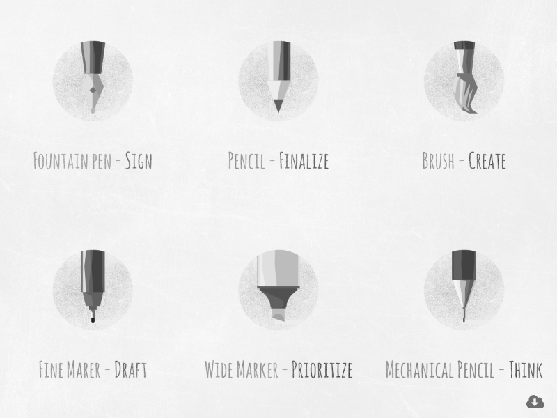 Free Polygon Flat Writing And Drawing Equipment Icon Set icons pentips polygon flat vector design icon psd freebie free drawing writing