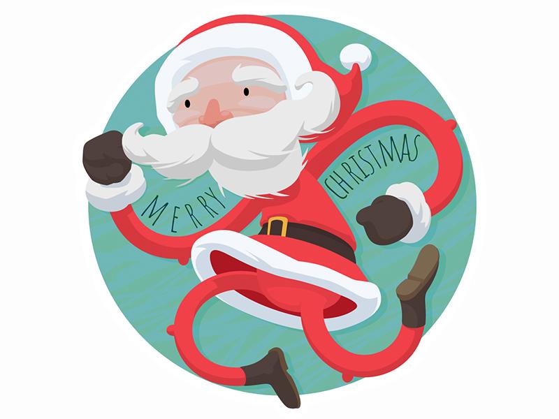 Merry Christmass! icons santa chrismtass