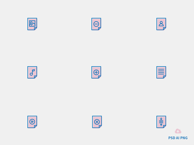 Free Set of File Icons