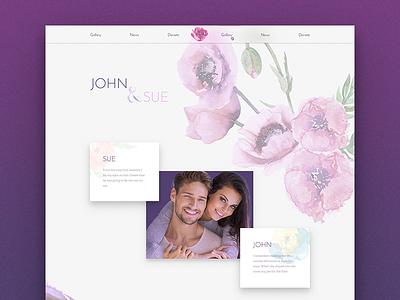 Wedding Home - Draft layouts design cards wedding theme wordpress