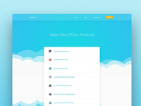 Product Selection Page for Theme Support - Draft Idea