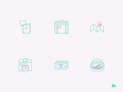 Freebie: Creative Travel Icons Pack
