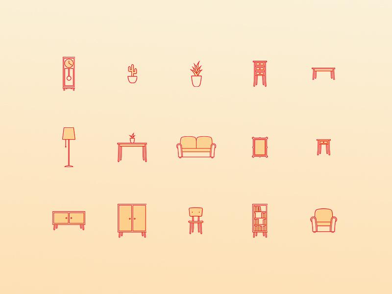 Freebie: Creative Home Icons Pack