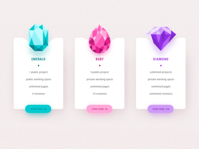 Pricing Table design pricing table price ui
