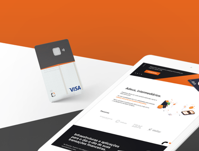 Bit Capital - Credit Card and Website Design