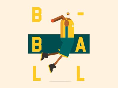 Dunk webdesign web poster basketball character dunk illustration