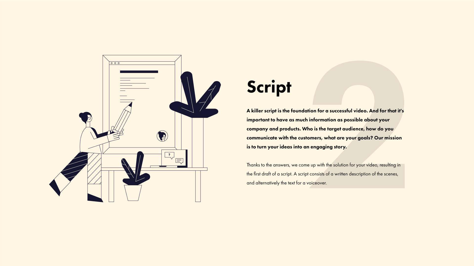 Script attachment