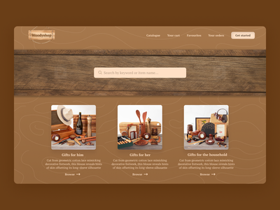 Landing page - Daily UI Challenge#3 website home page landing page beginner design ui dailyui dailyuichallenge wooden page