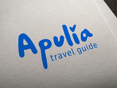 Logo for travel agency logotype logo italy agency travel apulia