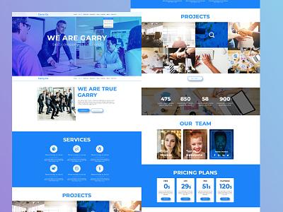 Garry template theme web corporate