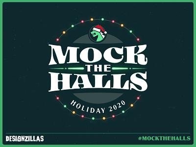 Mock the Halls 2020 illustration ui ux mockthehalls2020 mockthehalls mock the halls logo branding design website web design