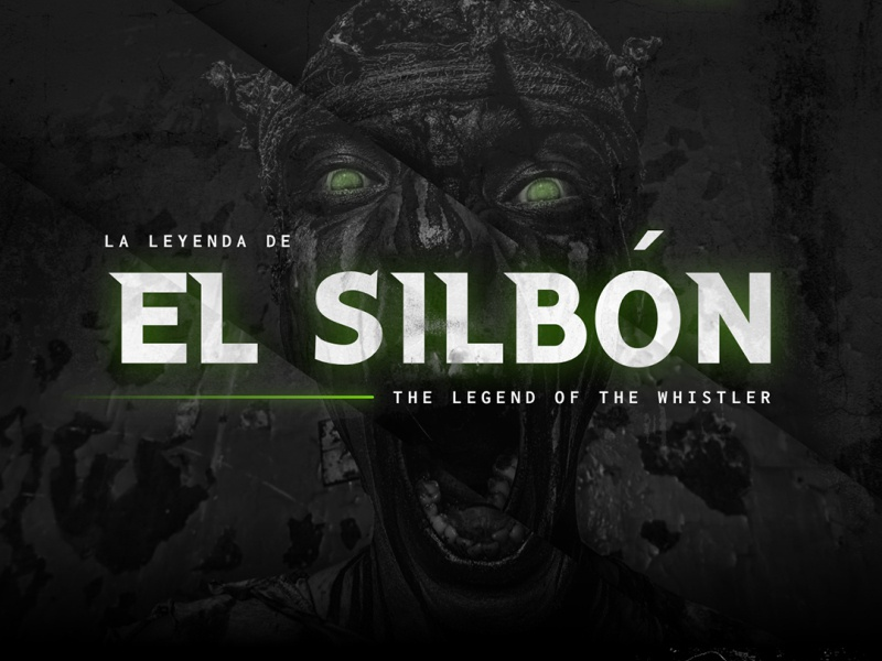 El Silbon (The Whistler) - Mocktober 2019 horror designzillas ui website el silbon mocktober web design