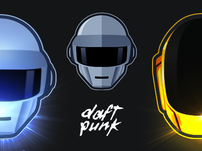 Daft Punk  vector daft punk daft punk vecto french frenchtouch bullz