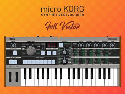 MicroKorg Full Vector