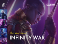 Women of Infinity War -Slides
