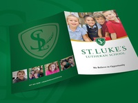 St Luke's Lutheran School | Brochure Folder & Inserts