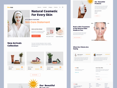 ecommerce landing page shopify design skein branding graphic design products design makeup identify minimal body products online shop beauty products beauty facial ecommerce uiux skein care cosmetic