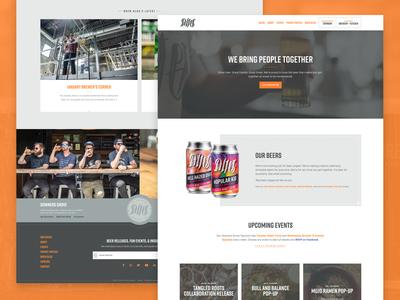 Alter Brewing Website Redesign