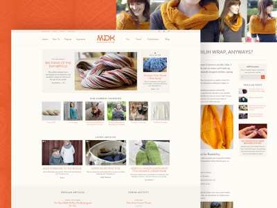 Mason Dixon Knitting Website Design web design web wordpress shop productshot homepage mdk community patterns yarn ux ui website ecommerce products knitters dixon mason knitting