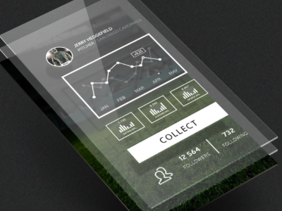Wireframe for Statistical App (Mobile) ios wireframe html5 charts jquery mobile app