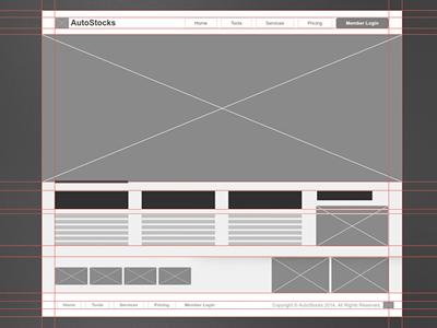 Website Wireframe (Homepage)