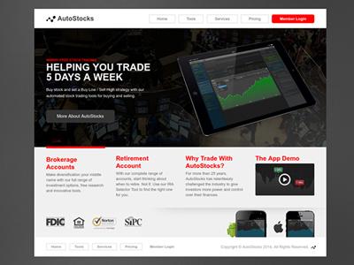 Rebound: Website Wireframe (Homepage) jquery html5 development homepage design ui website app