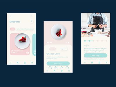 Eat app design ui ux