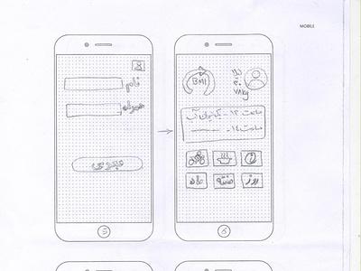 Diet App design app ux