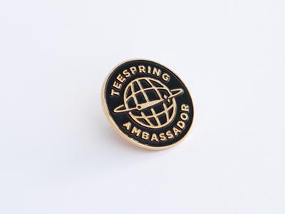 Teespring Ambassador Pin