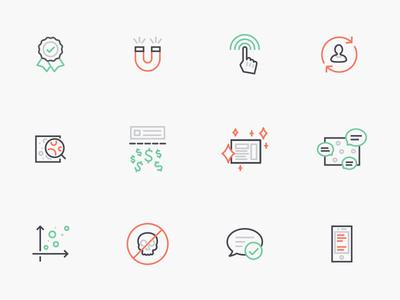 Disqus Icon Set icons pack metaphor cute icons set set small graphic ui web app vector design brand logo branding clean minimal icon design iconset icons