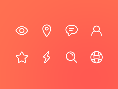 Pudgy Line Icons