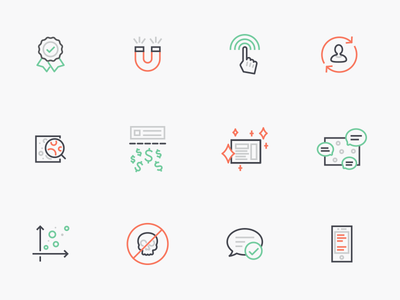 Line Icons to Tell a Story