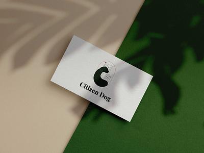 Citizen Dog design graphic design brand dog training business dog training business card logo design brand identity brand design logo branding