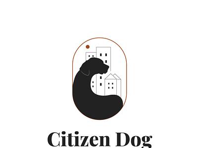 Citizen Dog design dog training brand identity graphic design brand design branding logo design logo