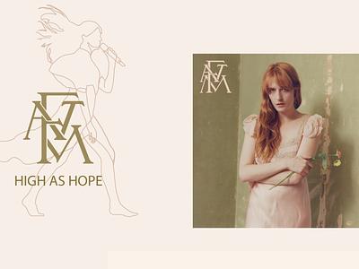 Florence + the Machine Memorabilia creative digital illustration digital art memorabilia illustration art illustrator concert design concert design graphic design illustration