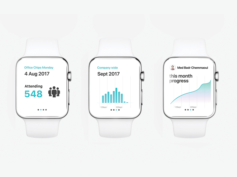 Watch OS early Prototype. prototype product typography interface colours ux ui ios watchos