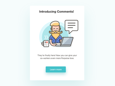 Product feature update email typography forms shapes colours web interface email ux ui