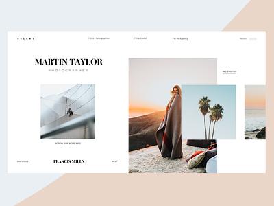 Minimalist Interface Design interface concept website type flat web app branding ux typography ui design