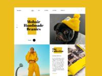 Web interface design