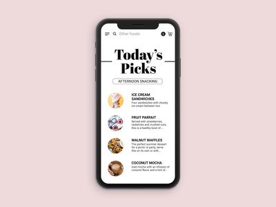 iOS UI Exploration