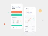 Stocks wallet app